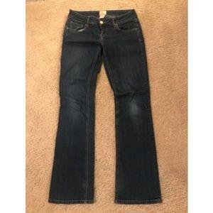 Arden B. Bootcut Jeans Woman's Size 2 Dark Wash
